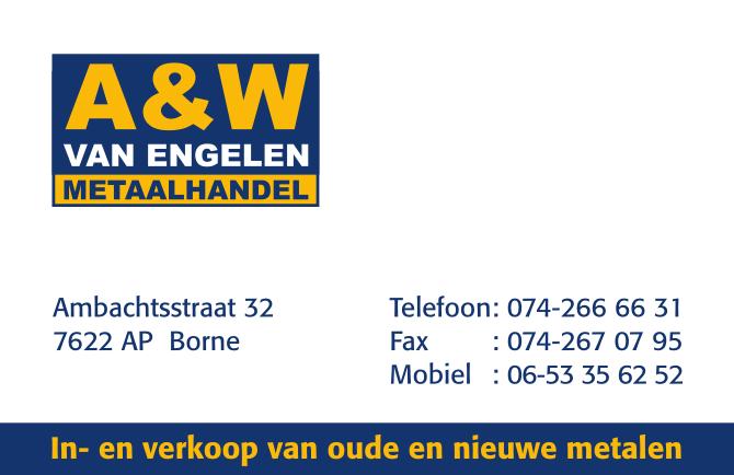 A&W van Engelen - Metaalhandel